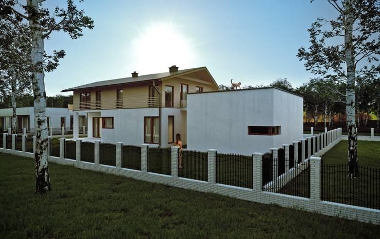Projekty domów - House 10.1: styl , w kategorii Domy zaprojektowany przez Majchrzak Pracownia Projektowa