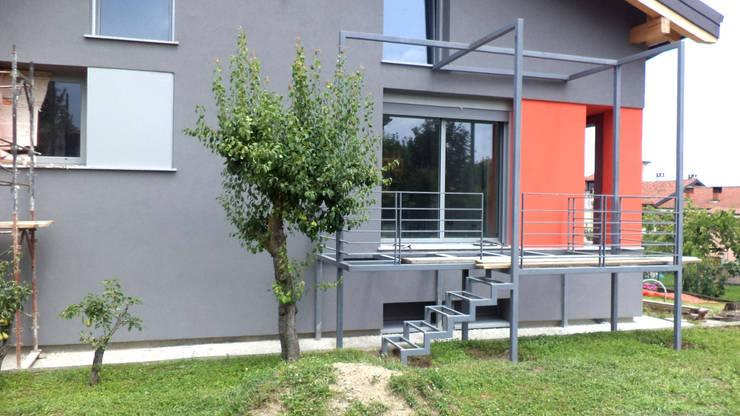 Projekty,  Taras zaprojektowane przez fabio licciardi architetto