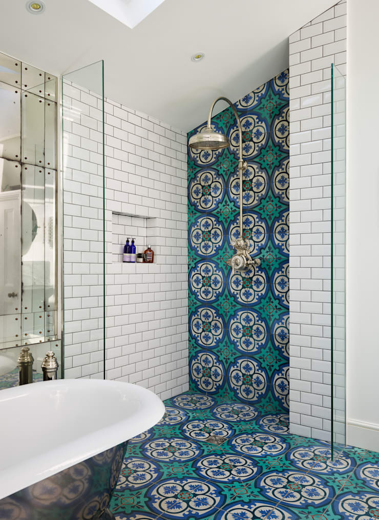 Victorian Terrace House, South-West London: modern Bathroom by Drummonds Bathrooms