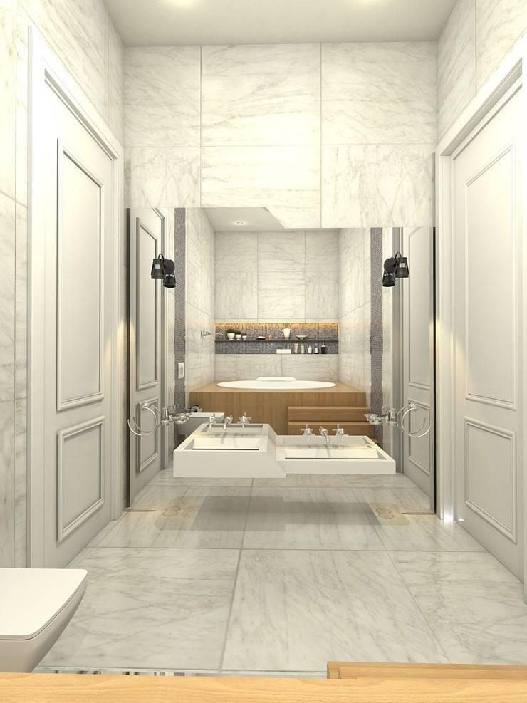 Murat Aksel Architecture – Housing: modern tarz Banyo
