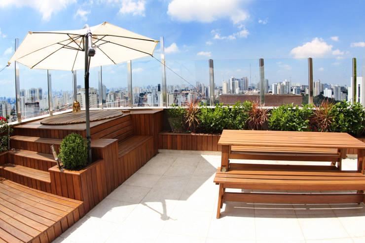 Cobertura – Residência FR em São Paulo: Jardins  por MAAC. Arquitetura