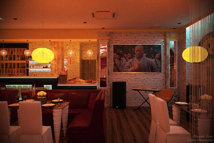 Дизайн ресторана китайской кухни: Ресторации в . Автор – Студия интерьерного дизайна happy.design