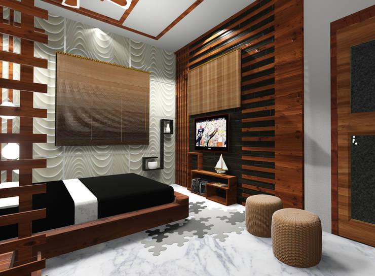 moderne Schlafzimmer von Creazione Interiors