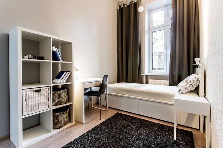 scandinavische Slaapkamer door Finchstudio