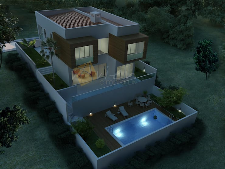 Houses by Murat Aksel Architecture