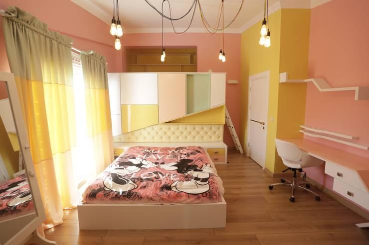 Murat Aksel Architecture – Housing: modern tarz Çocuk Odası