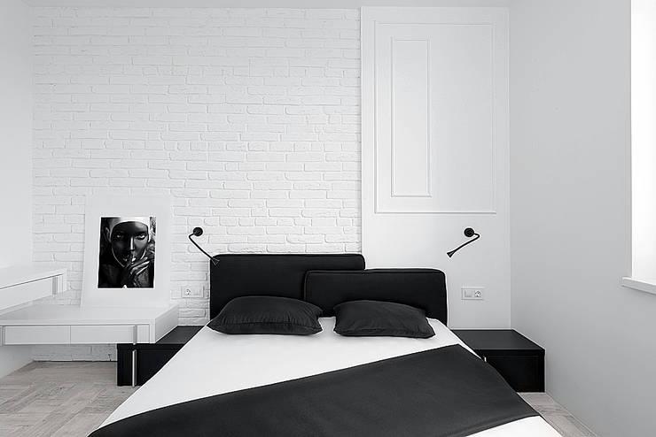 bedroom:  Slaapkamer door Olga Kravchuta design