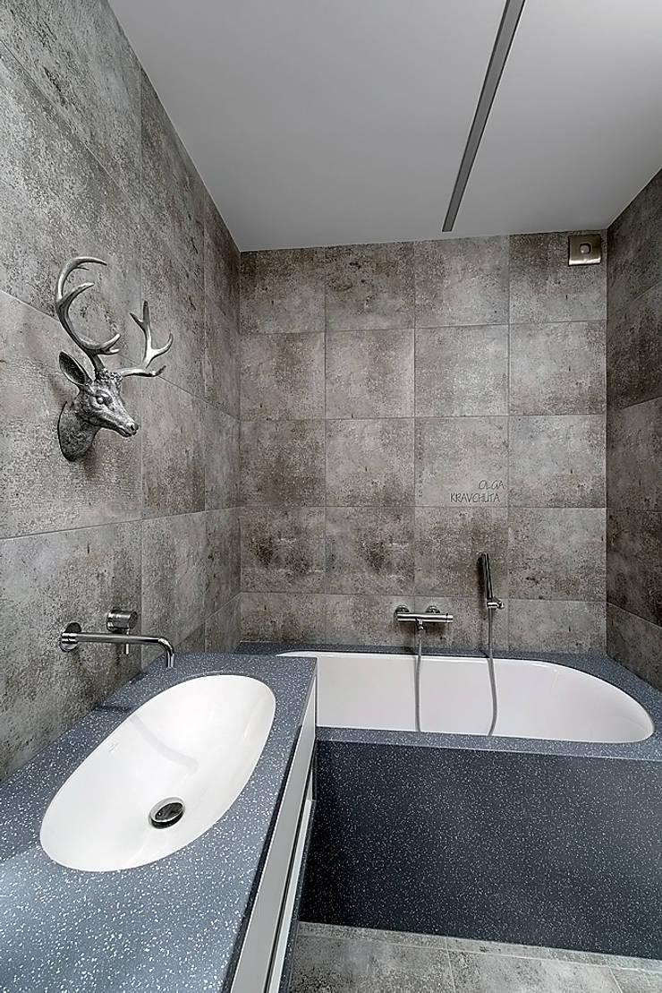 bathroom:  Badkamer door Olga Kravchuta design