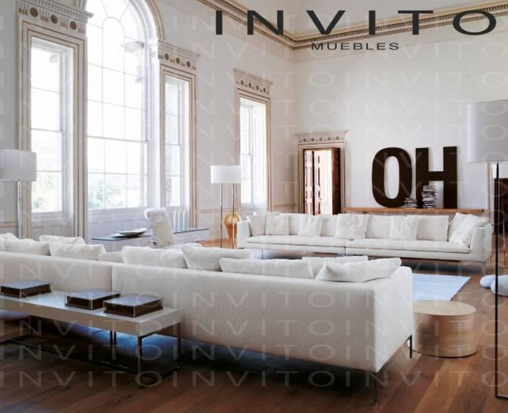 Salas INVITO : Salas de estilo  por INVITO