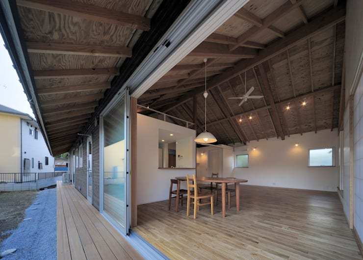 月輪の家: FuruichiKumiko ArchitectureDesignOfficeが手掛けた現代のです。,モダン