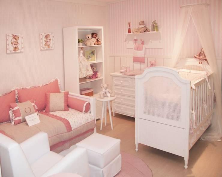 Quarto de bebê completo decorado - linha Classic: Quarto de crianças  por INTERCASA MÓVEIS INFANTIS E JUVENIS,