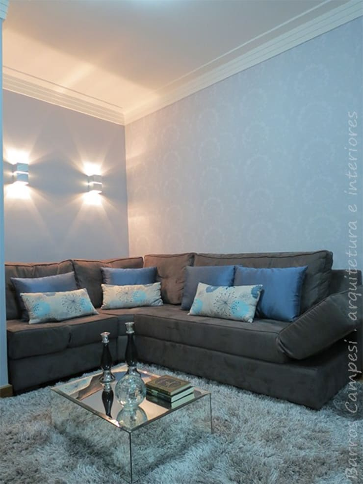 Sala de Estar : Salas de estar  por Barros Campesi Arquitetura