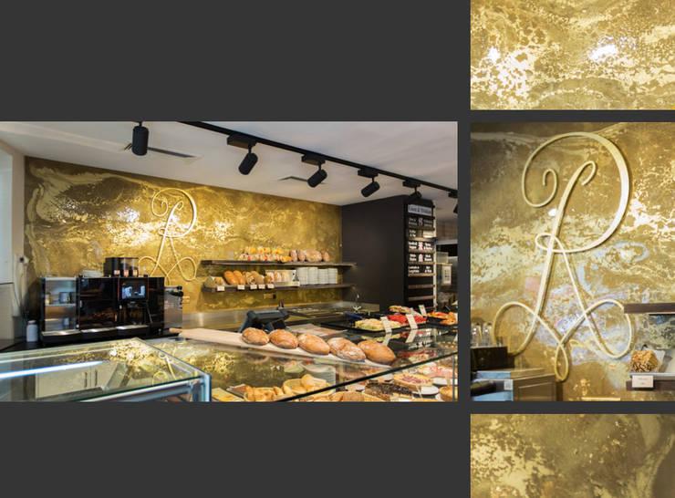 Extravagante Wandgestaltung In Gold Setzen Sie Ein Highlight In