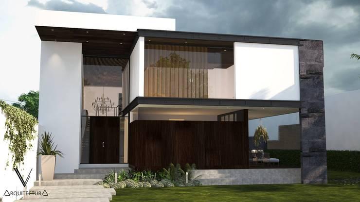 Fachada Principal:  de estilo  por V Arquitectura