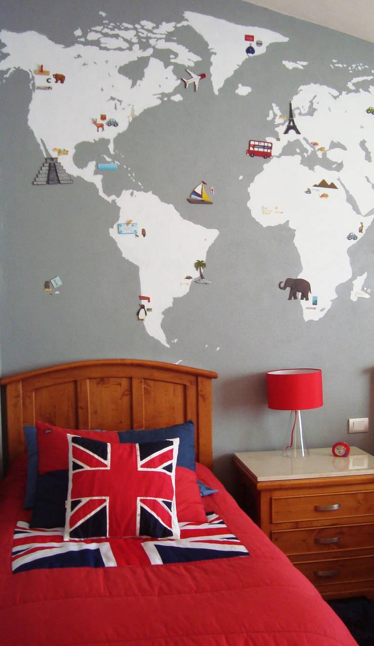 Mapa 01:  de estilo  por LM decoración
