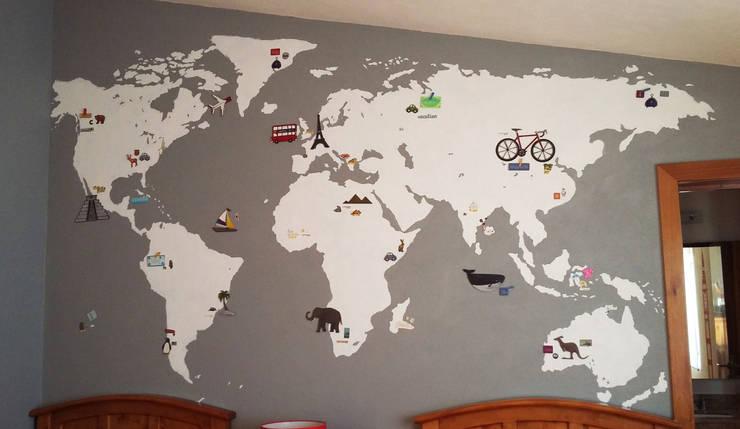 Mapa 02:  de estilo  por LM decoración