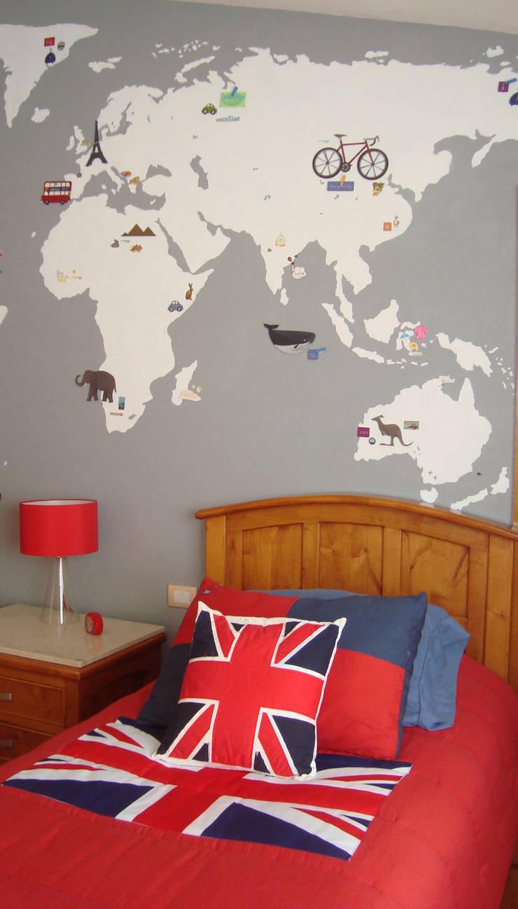 Mapa 03:  de estilo  por LM decoración