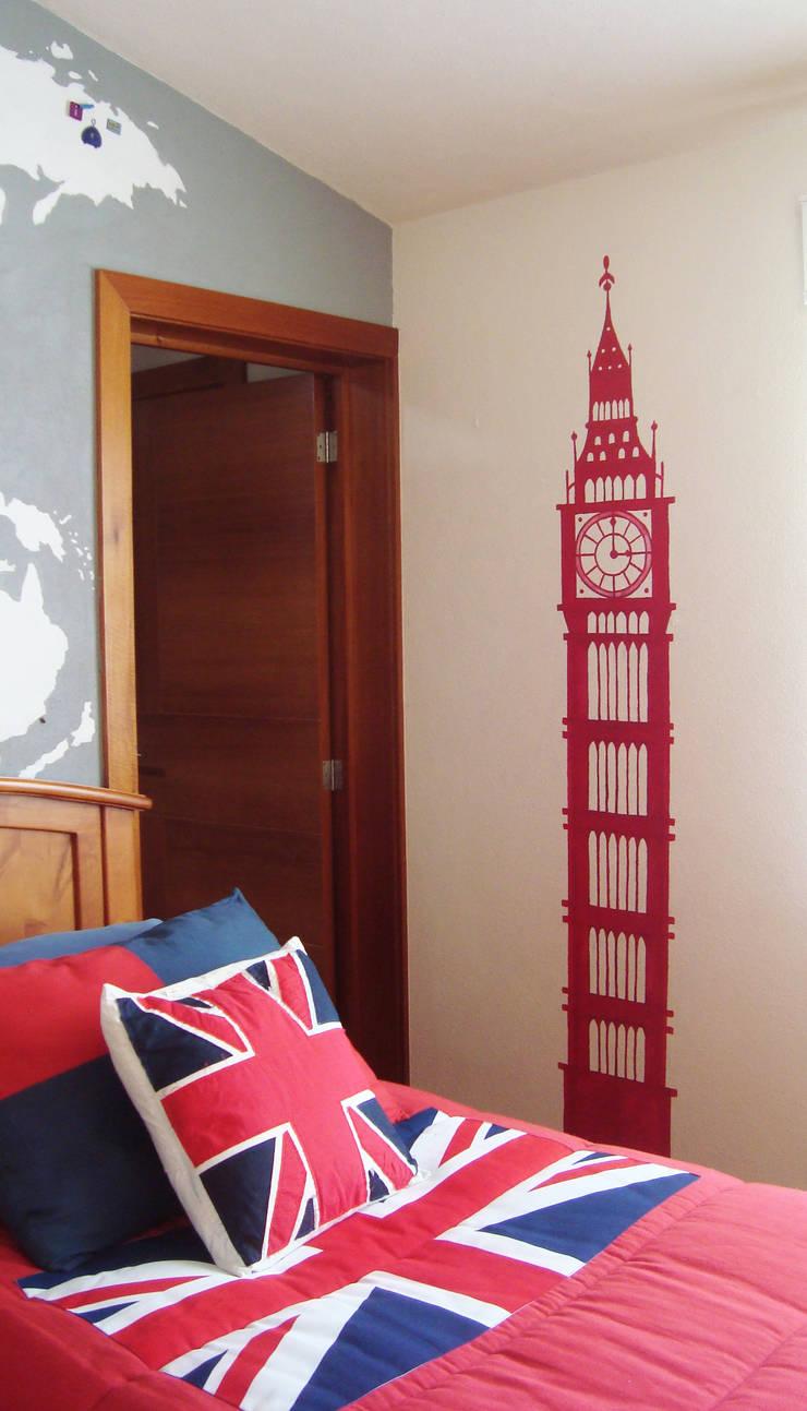 Silueta Big Ben:  de estilo  por LM decoración