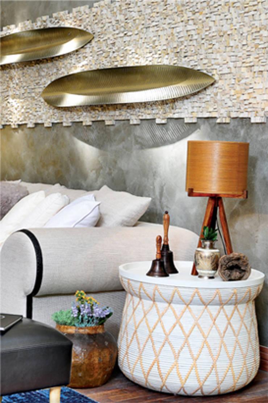 Living Casa de Campo: Salas de estar  por Samira Jarouche Arquitetura & Interiores,