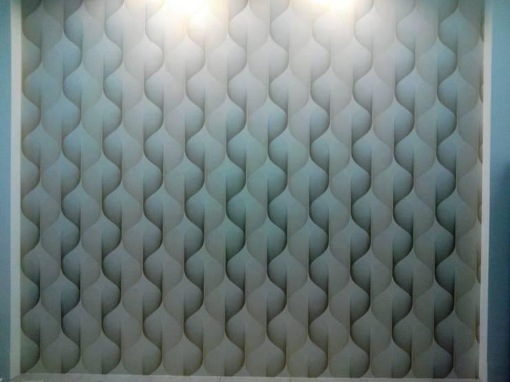 Interior Park Showroom in Kirti Nagar, Delhi: country Living room by Decor At Door