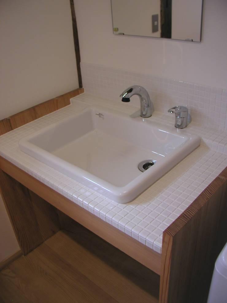 K家 土蔵の再生 オリジナルスタイルの お風呂 の 池内建築図案室 オリジナル
