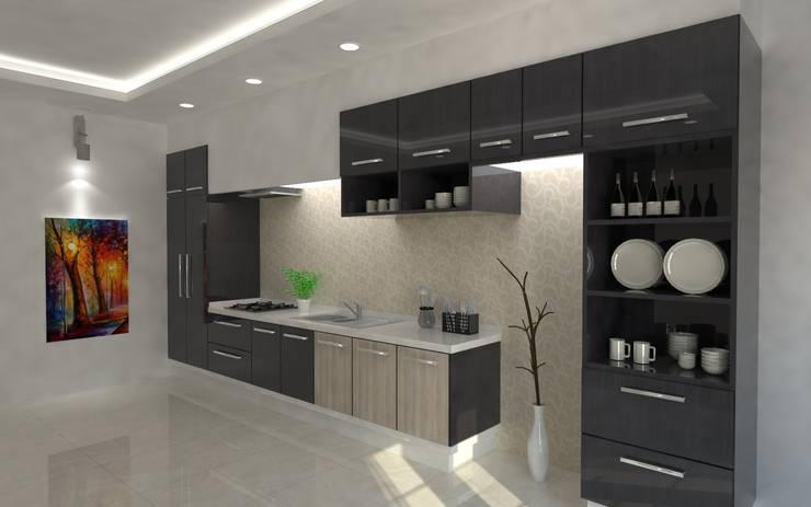 Modular Kitchens:   by Regalias India Interiors & Infrastructure