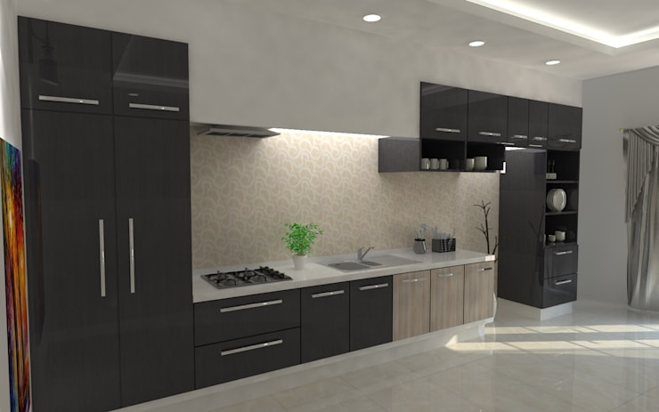 Modular Kitchens:   by Regalias India Interiors & Infrastructure