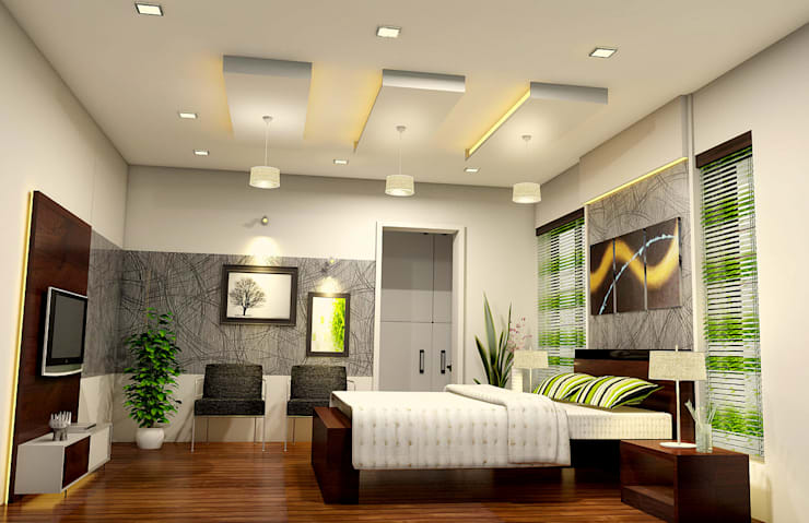 Bedroom Design: modern Bedroom by BN Architects