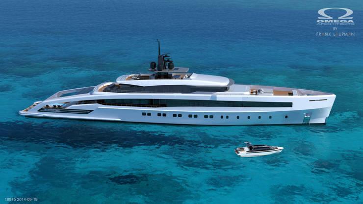 Oceansport 75m:  Jachten & jets door Omega Architects, Modern