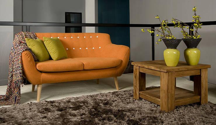 Sixties 2zits sofa - Floris van Gelder: moderne Woonkamer door Floris van Gelder