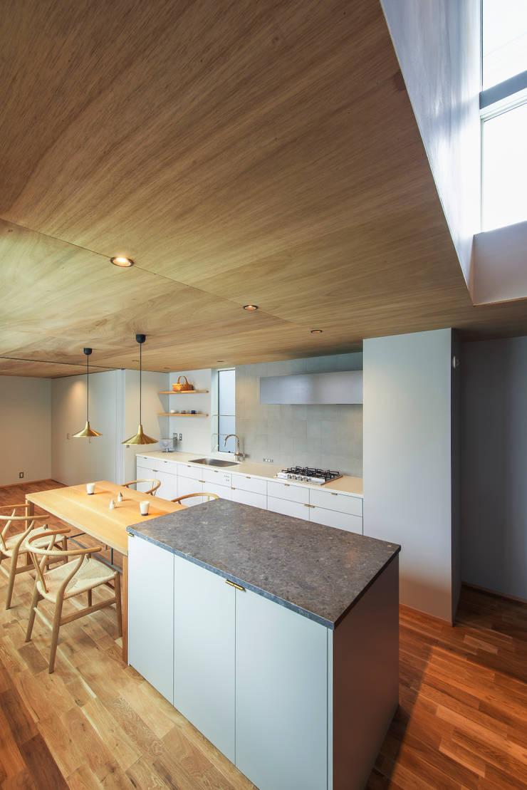 黒川の家: Nobuyoshi Hayashiが手掛けたキッチンです。