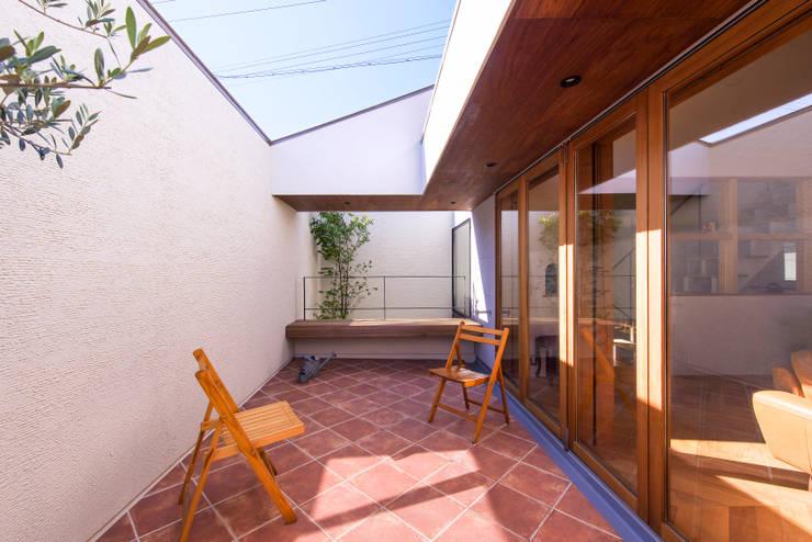 Terrazza in stile  di Nobuyoshi Hayashi