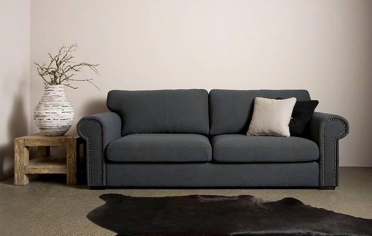 Merlin 3 zits sofa - UrbanSofa:   door UrbanSofa, Landelijk