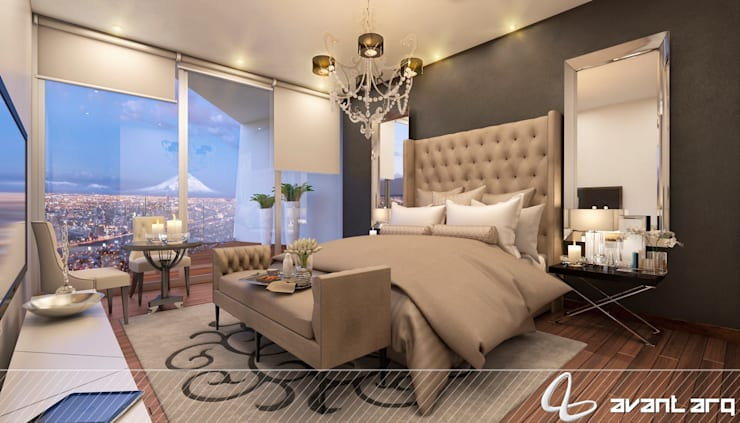 Bedroom by AVANT ARQ