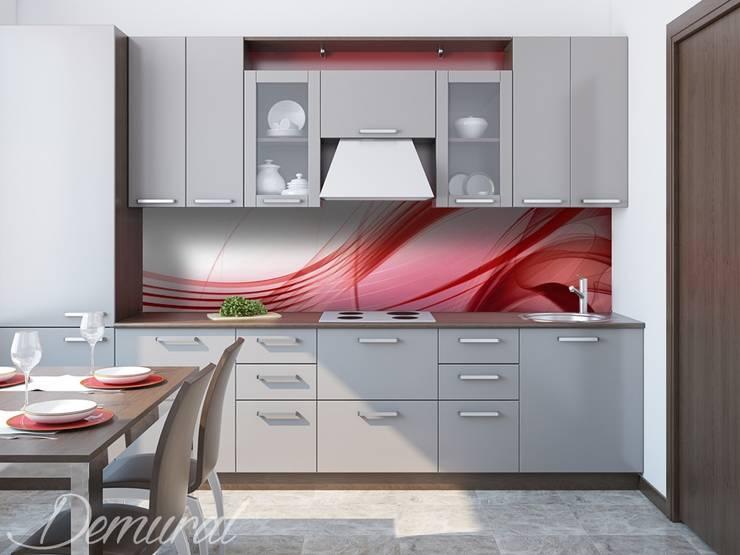 Metaloplastyka: styl , w kategorii Kuchnia zaprojektowany przez Demural.pl