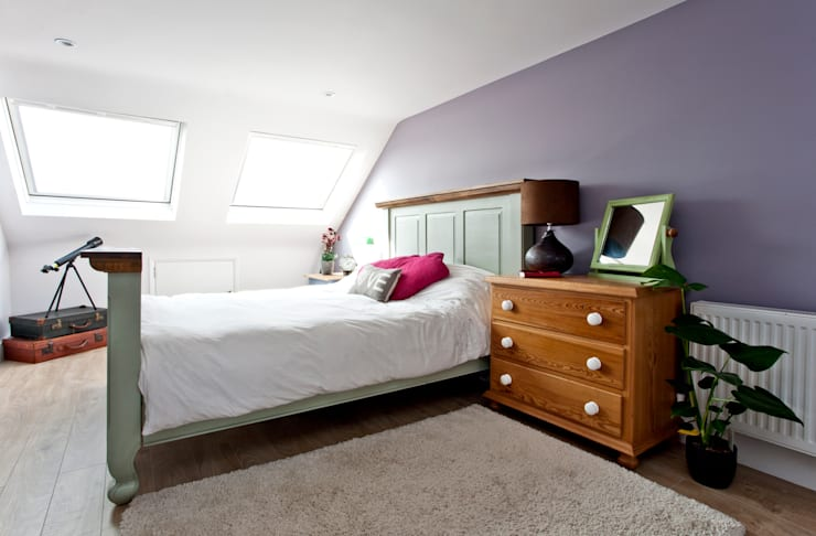 London Hip To Gable Loft Conversion and Extension:  Bedroom by A1 Lofts and Extensions