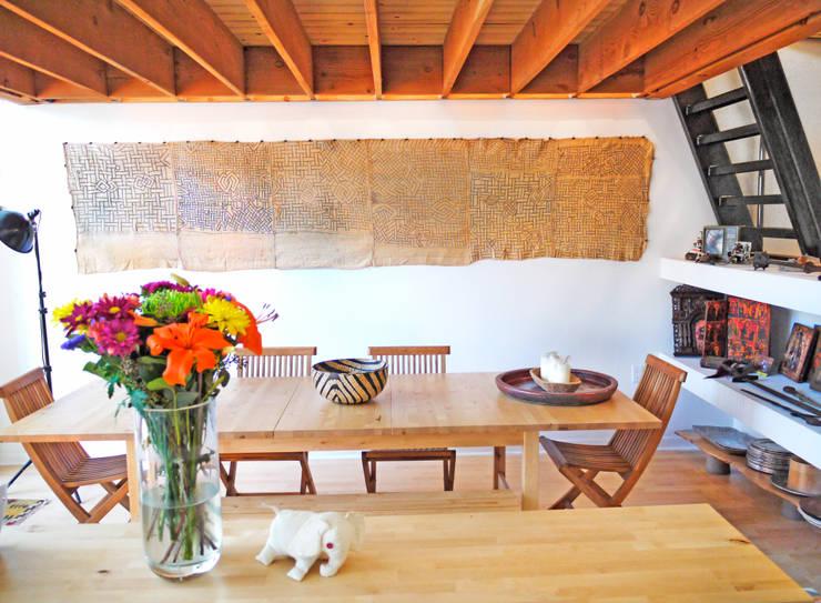 Loft LA: Salas de estilo moderno por Juan Carlos Loyo Arquitectura