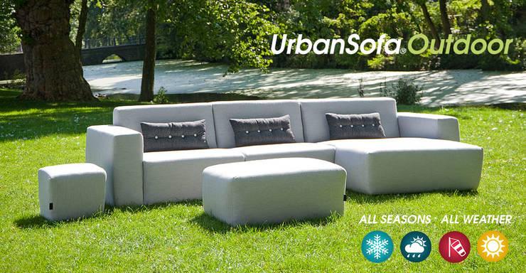 Provence loungebank - UrbanSofa Outdoor:   door UrbanSofa, Landelijk