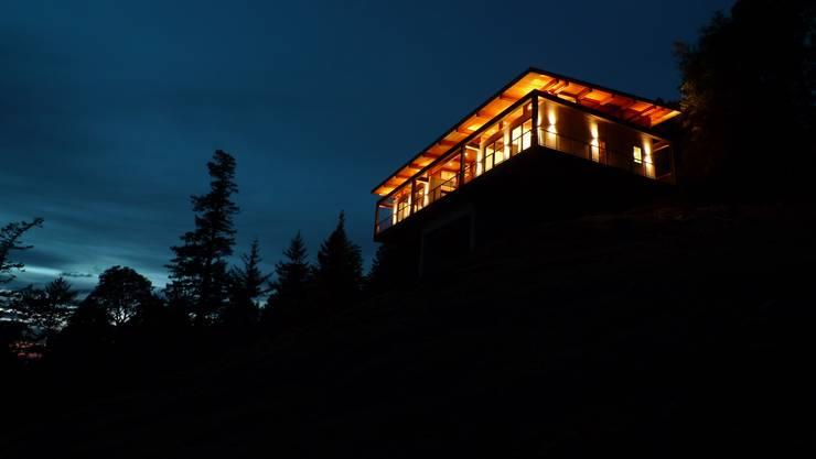 Casa Buck Mountain, Indigo, EUA   Viroc: Paredes  por Viroc