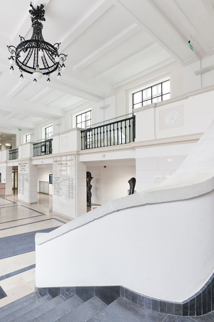 Uniwersytet Przyrodniczy, WrocławUniwersytet Przyrodniczy, Wrocław: styl , w kategorii  zaprojektowany przez Majchrzak Pracownia Projektowa