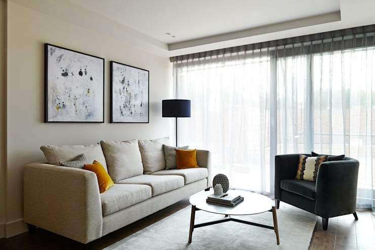 Living room by Studio Duggan