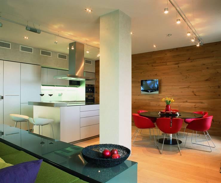 Квартира в ЖК Новая звезда: Кухни в . Автор – ASASH,