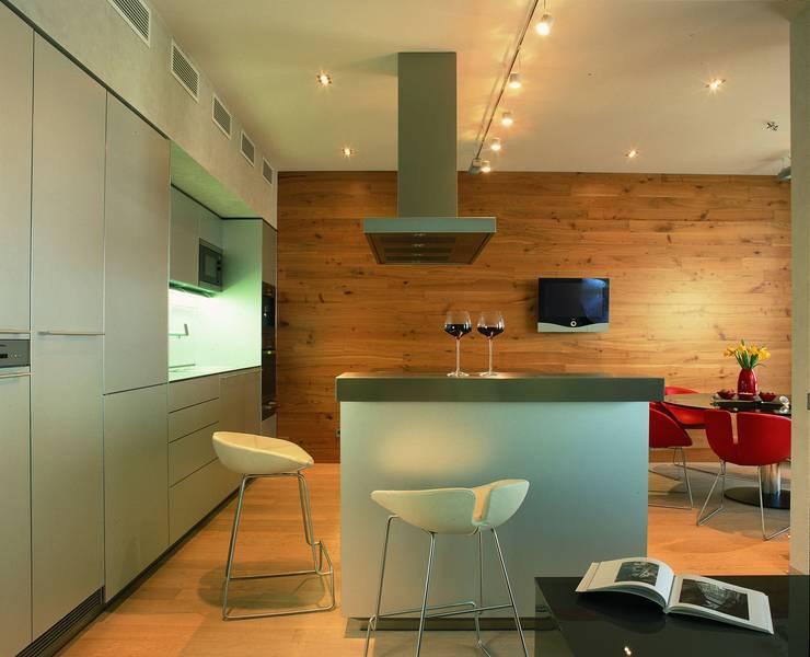 Квартира в ЖК Новая звезда: Кухни в . Автор – ASASH