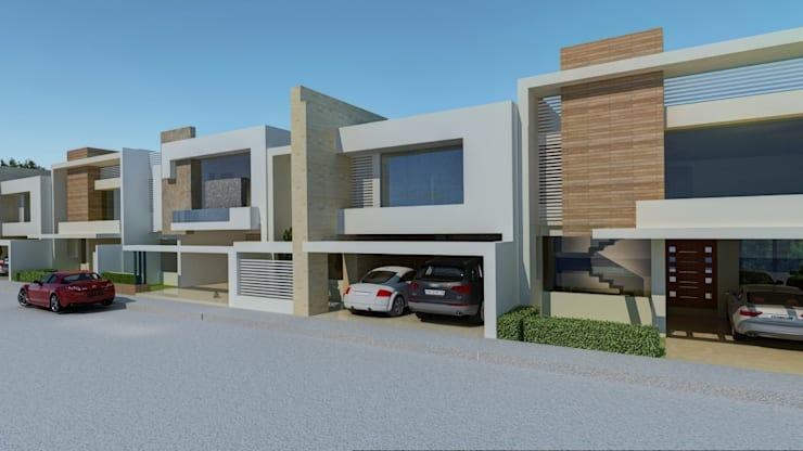 Houses by CouturierStudio, Modern