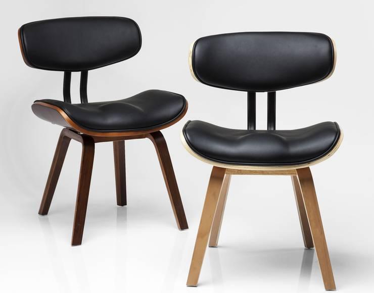 Pelle sedie per l area living