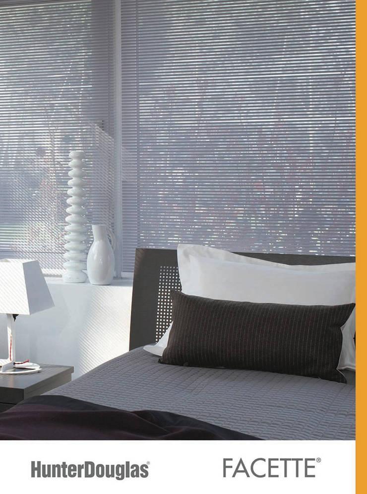 Facette®: Recámaras de estilo  por Dekorier Interiores
