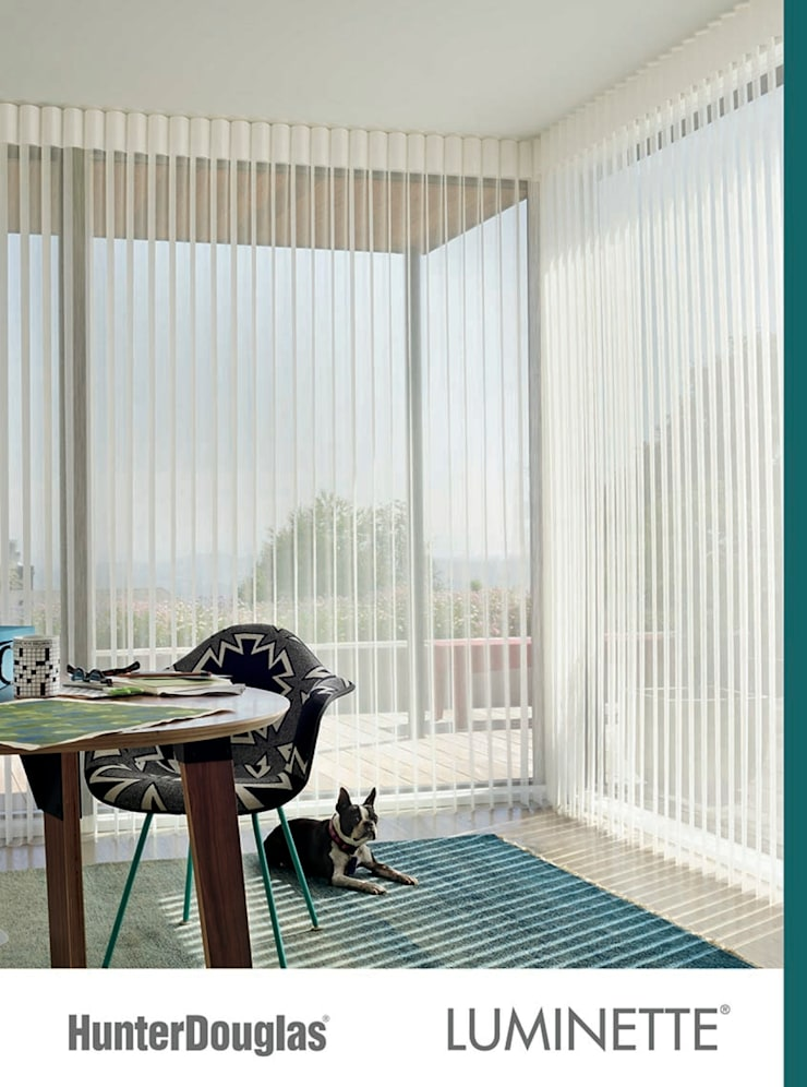 Luminette: Salas de estilo  por Dekorier Interiores