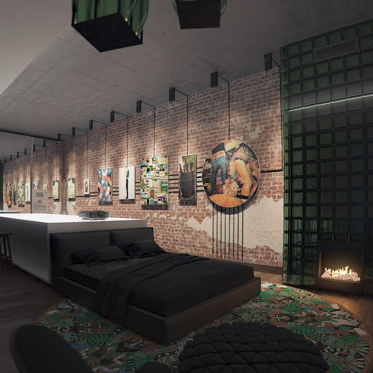 FEDOROVICH Interior의  침실