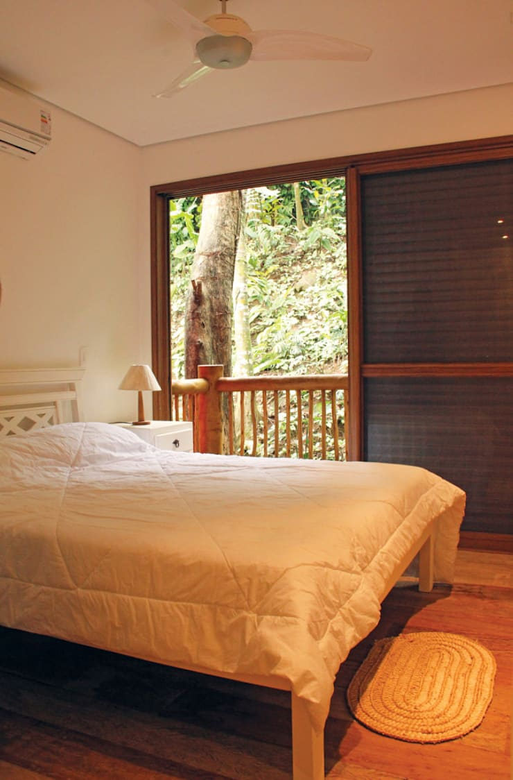 Dormitorios de estilo  por RAC ARQUITETURA