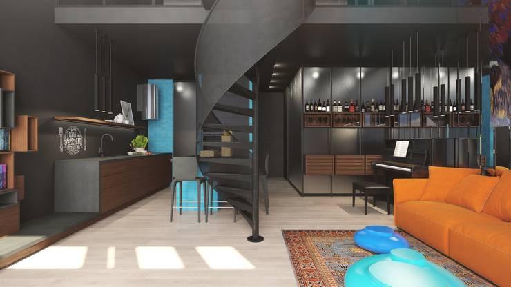 TriBeCa: Кухни в . Автор – FEDOROVICH Interior